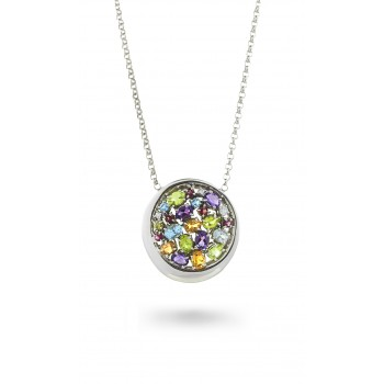 IRIDE NECKLACE WITH PENDANT